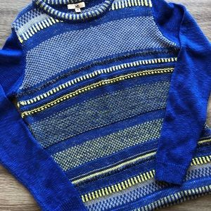 Ya Los Angeles size M blue/yellow stripe sweater